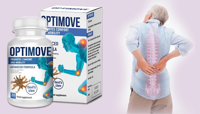 OPTIMOVE für Gelenke: Erneuert das Knochen - und Knorpelgewebe vollständig