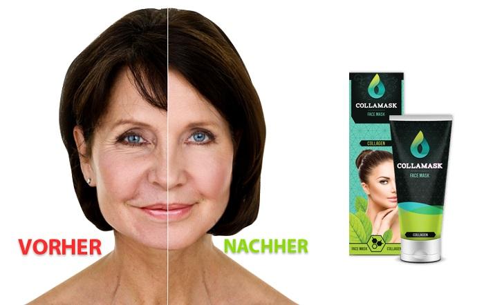 Collamask von Falten: wischen Sie das Alter von Ihrem Gesicht!