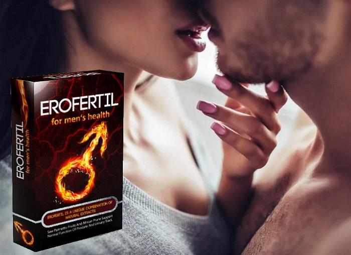 Erofertil für die Potenz: spüren Sie den Ansturm der männlichen macht!