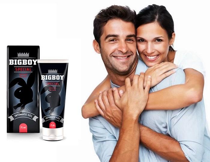 BigBoy Special um zu erhöhen: geben Sie Ihrem Partner ein unvergessliches Vergnügen!