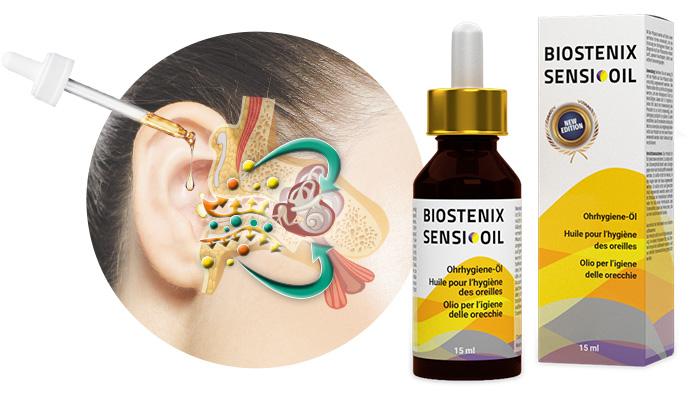 Biostenix Sensi Oil zum Hören: In 28 Tagen hört man sogar ein Flüstern ohne Hörgerät