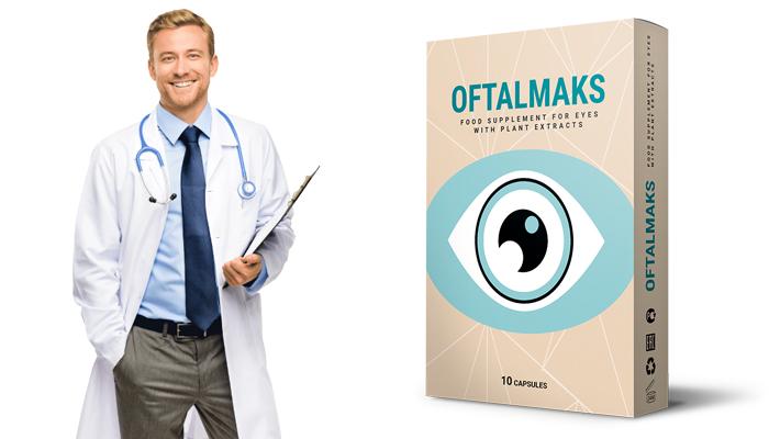 OFTALMAX: wirksam zur Unterstützung und zum Schutz des Sehvermögens