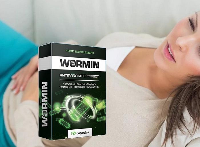WORMIN von Parasiten: befreit den Körper von allen Arten von Parasiten!
