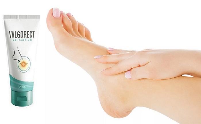 Valgorect von Hallux valgus Deformation der Füße: befreit Beulen an den Füßen ohne Operation!
