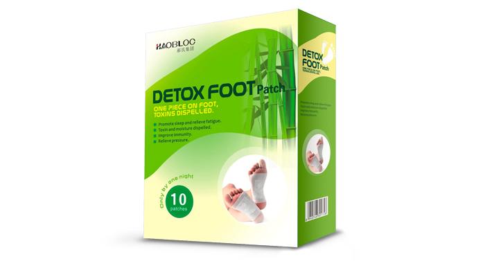 Detox foot Patch gegen gegen Giftstoffe: Ihr Körper wird von ungesunden Giftstoffen gereinigt