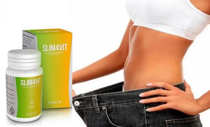 Slim4vit zum Abnehmen: verliert extra Pfund für 1 Kurs!