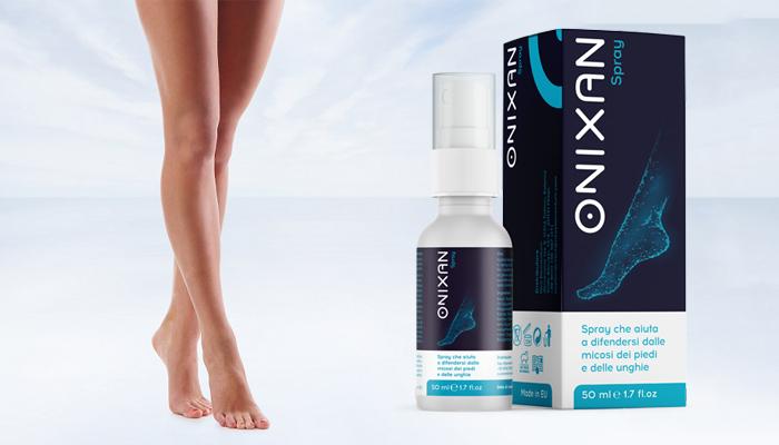 Onixan Spray gegen Pilzinfektion: eine einfache und 100% effektive Methode