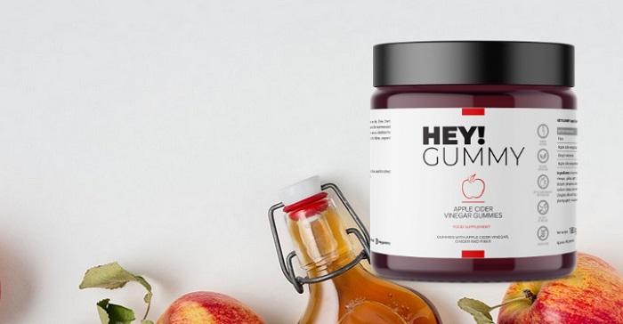 HEY!GUMMY zum Abnehmen: helfen, Widerstandskraft zu stärken, Gewicht zu verlieren und Ihr Wohlbefinden zu verbessern!