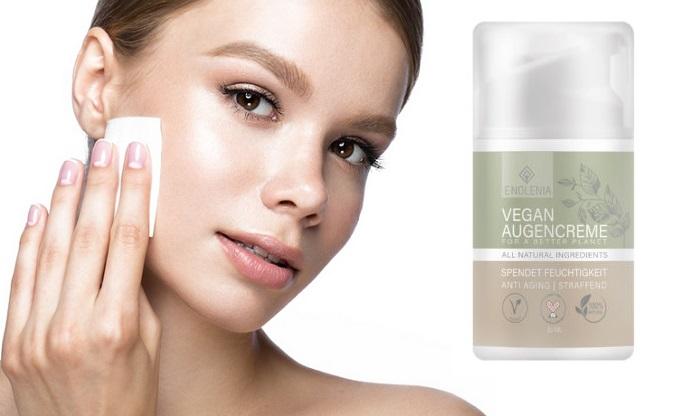 Vegan Augencreme von Falten: Fühlen Sie sich jung und schön!