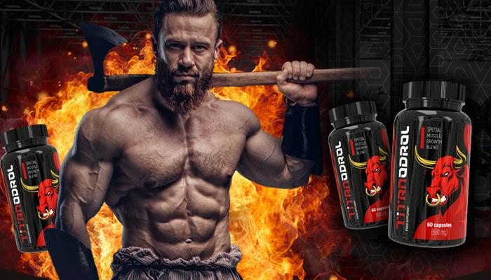 Titanodrol um die Muskelmasse zu erhöhen: Bauen Sie Ihre Muskelmasse in ein paar Monaten auf