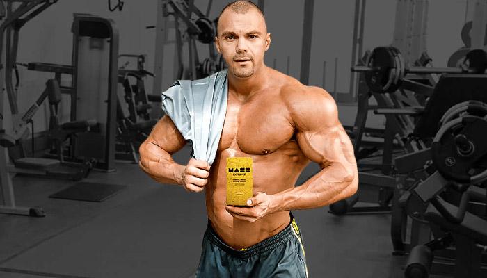 Mass Extreme: das einzige Supplement, das Du zum Aufbau der Muskelmasse brauchst